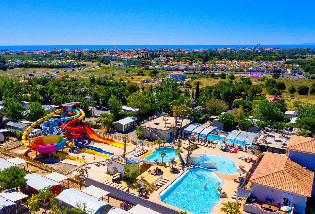 L'Hermitage, Camping Languedoc Roussillon - Overzicht - Capfun
