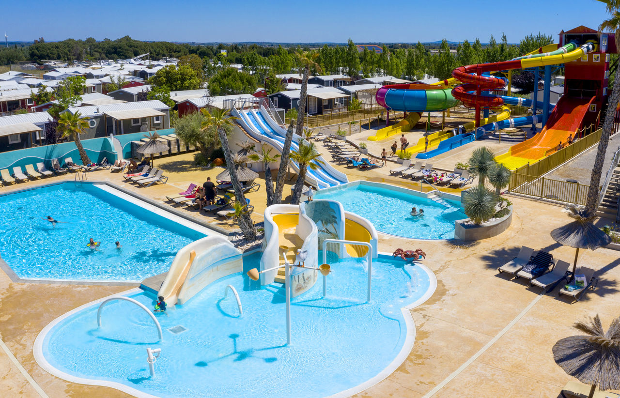 L'Hermitage, Camping Languedoc Roussillon - Glijbanen - Capfun