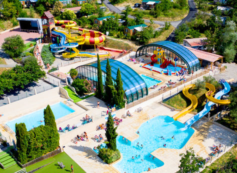 Camping Le Merle Roux, Rhone Alpes