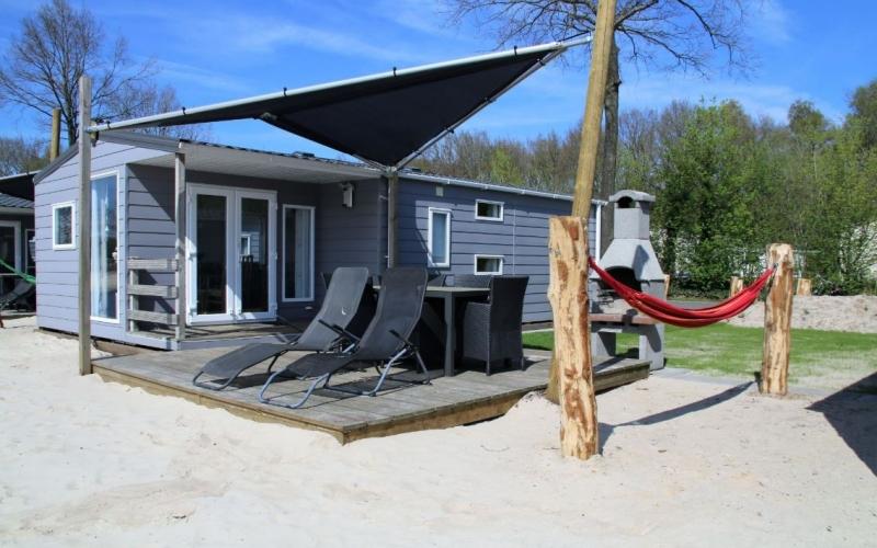 Accommodatie aan het strand op vakantiepark Het Stoetenslagh